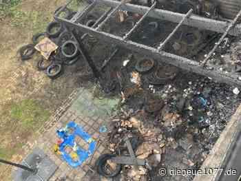 Großbrand in Ditzingen - wir helfen - DIE NEUE 107.7