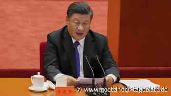 """Xi fordert """"Wiedervereinigung"""" mit Taiwan - und warnt vor """"bösem Ende"""""""