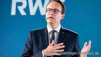 RWE-Chef Krebber erwartet auf Jahre höhere Strom- und Gaspreise