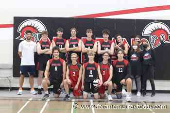 Spartans charge forward in seniors boys volleyball season - Fort McMurray Today