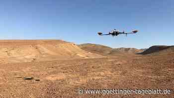 Navi-System statt GPS: Drohnen werden in der Wüste für Mars-Flüge weiterentwickelt