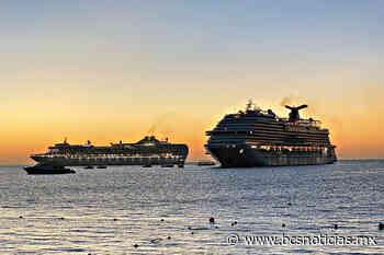 Cabo San Lucas inició este jueves con doble arribo de megacruceros; traen cerca de 3000 viajeros - BCS Noticias
