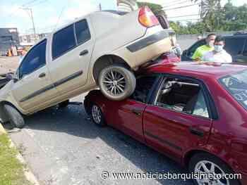 Así quedaron los vehículos en aparatoso accidente de la Intercomunal Barquisimeto-Acarigua (+Vídeo) - Noticias Barquisimeto