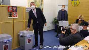 Wahl in Tschechien: Regierungschef Babis liegt bei Zwischenstand knapp vorn
