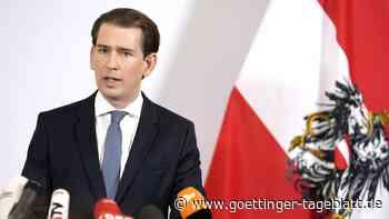 Regierungskrise in Österreich: Kanzler Kurz kündigt Rücktritt an