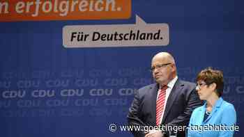 Die CDU arbeitet an ihrem Neuanfang: AKK und Altmaier machen Platz