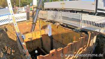 Die Baustelle Hornhäuser Straße in Oschersleben beschäftigt den Stadtrat - Volksstimme