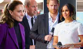 Meghan and Harry 'jealous' of Kate and William as Cambridges eye political role