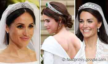 The staggering sum each royal tiara is worth RANKED