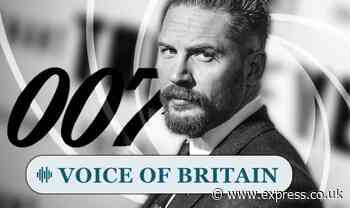Bond fans are desperate to see heart-throb Tom Hardy as next 007 agent - Express