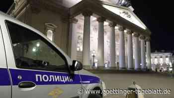 Berühmtes Bolschoi Theater: Künstler stirbt bei Vorstellung