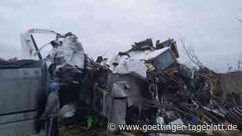 Flugzeug in Russland abgestürzt: 15 Tote und mehrere Verletzte