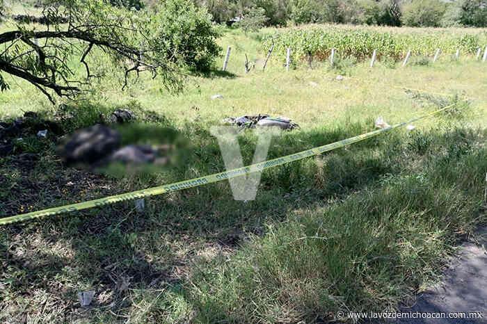 Motociclista pierde la vida al accidentarse sobre la carretera Jacona-Jiquilpan - La Voz de Michoacán