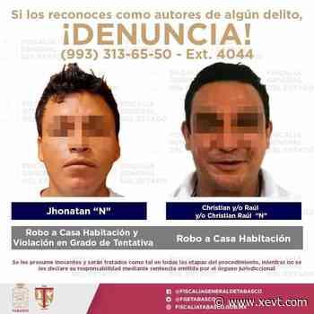 Detiene FGE a siete sujetos en Centro, Comalcalco y Cunduacán, relacionados con los delitos de robo a casa-habitación y comercios - XeVT 104.1 FM | Telereportaje