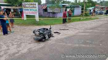 Muere una mujer tras accidente en la Cárdenas-Comalcalco - tabasco hoy