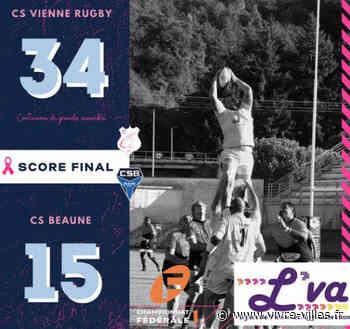 Rugby : le CS Vienne s'impose largement sur son terrain, face à Beaune - Vivre villes