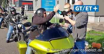 Motorrad-Korso zum Geburtstag: 1200 Biker fahren für den kleinen Matheo durch Lübeck