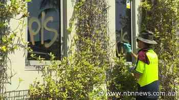 THREE MEN CHARGED OVER GRAFFITI IN BYRON BAY - NBN News
