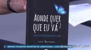 Nossos Talentos: escritor de Jaboticabal lança novo livro - Record TV
