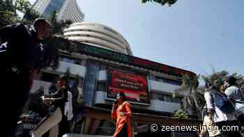 Sensex rises over 100 points in early trade; TCS tanks 6%