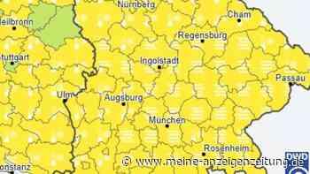 Amtliche Wetterwarnung für Bayern am Morgen - Experte mit Alpen-Hinweis