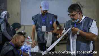 Wahlen im Irak: Beteiligung der Bevölkerung auf Rekordtief