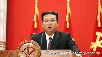 """Nordkorea: Kim Jong Un sorgt sich um """"düstere Lage"""" der Wirtschaft"""