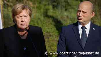Angela Merkel in Israel: Europa muss eigene Sicherheitsinteressen klarer definieren