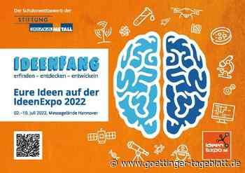 Schüler können eigene Projekte auf der Ideenexpo 2022 ausstellen