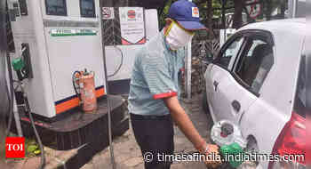 Petrol costs more than Rs 100 in almost all state capitals