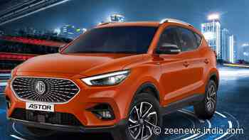 MG Astor SUV with India's first personal AI assistant launched in India: Check price, specs, delivery details
