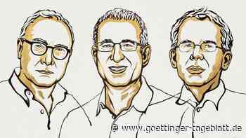 Wirtschaftsnobelpreis geht in die USA: Drei Ökonomen erhalten Auszeichnung