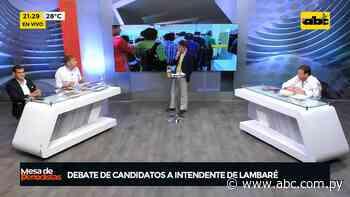 Debate de candidatos a intendente de Lambaré - ABC Color