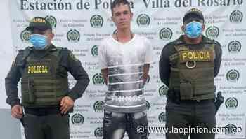 A 'Chorizo' lo señalan de ser un homicida en Villa del Rosario - La Opinión Cúcuta