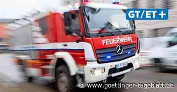 Bagger reißt Gasleitung in Hannover-Hainholz auf