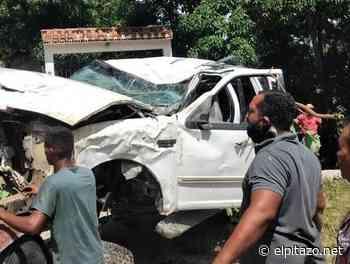 Charallave | Niña fallece y siete personas resultan heridas en vuelco de vehículo - El Pitazo