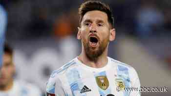 Argentina v Uruguay: Lionel Messi makes South American history with 80th international goal