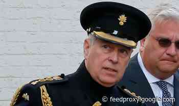 Prince Andrew 'blocked from Prince Charles' royal banquet'