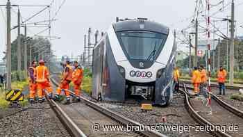 Reparatur des entgleisten Zuges in Wolfsburg dauert noch Monate