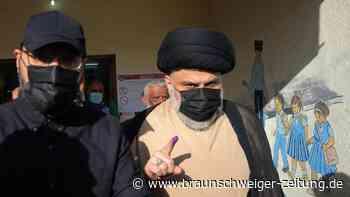 Schiitischer Geistlicher Al-Sadr vor klarem Wahlsieg im Irak