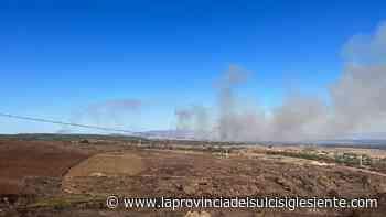 Incendio a Santu Lussurgiu, in azione canadair ed elicotteri - La Provincia del Sulcis Iglesiente