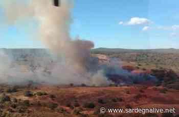 Spento oggi il rogo a Santu Lussurgiu - Sardegna Live