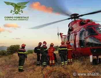 Incendio a Santu Lussurgiu, operazioni di bonifica - Agenzia ANSA