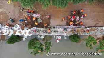 Historische Überschwemmungen in Nordchina: Mindestens 15 Tote