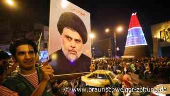 Wahl im Irak: Bewegung des Geistlichen al-Sadr liegt offenbar vorne