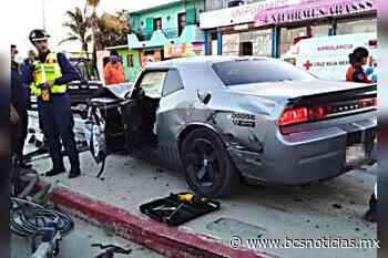 Bomberos de Cabo San Lucas protagonizan accidente; hubo lesionados, pero no de gravedad - BCS Noticias