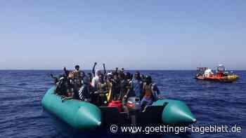 Weitere Tote im Mittelmeer: Libysche Küstenwache birgt zwei Flüchtlingsboote