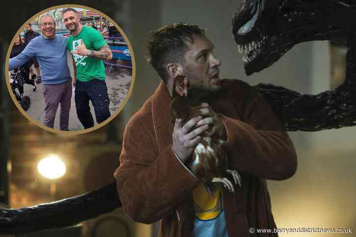Venom: Carnage actor Tom Hardy says family loves Barry Island | Barry And District News - Barry and District News