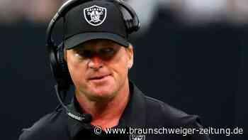E-Mail-Skandal in der NFL: Raiders-Coach Gruden tritt zurück