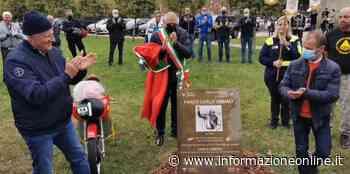 """Inaugurato a Samarate il parco """"Carlo Ubbiali"""", leggenda del motociclismo - InformazioneOnline.it"""